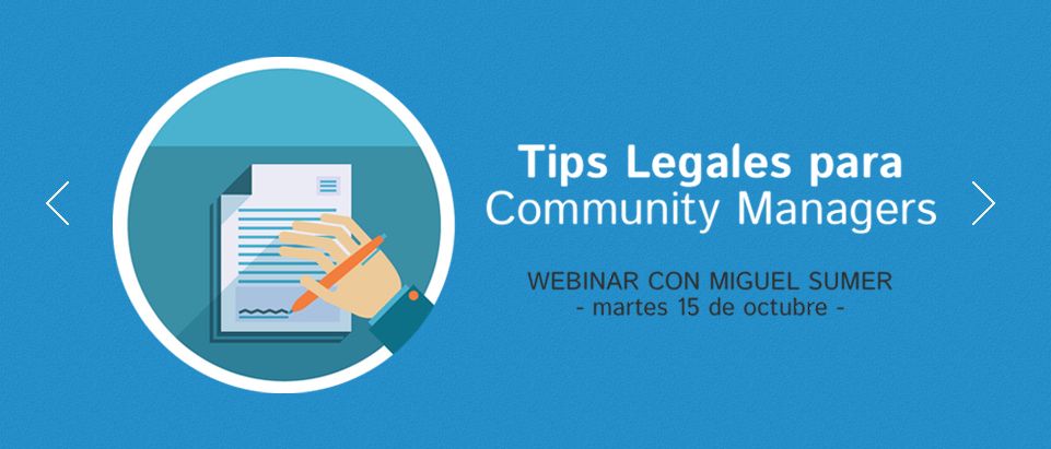 Tips Legales Community Managers Miguel Sumer Elias