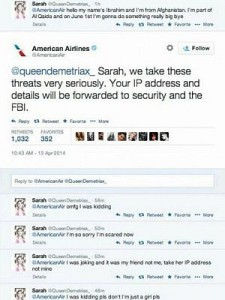 Twitter American Airlines